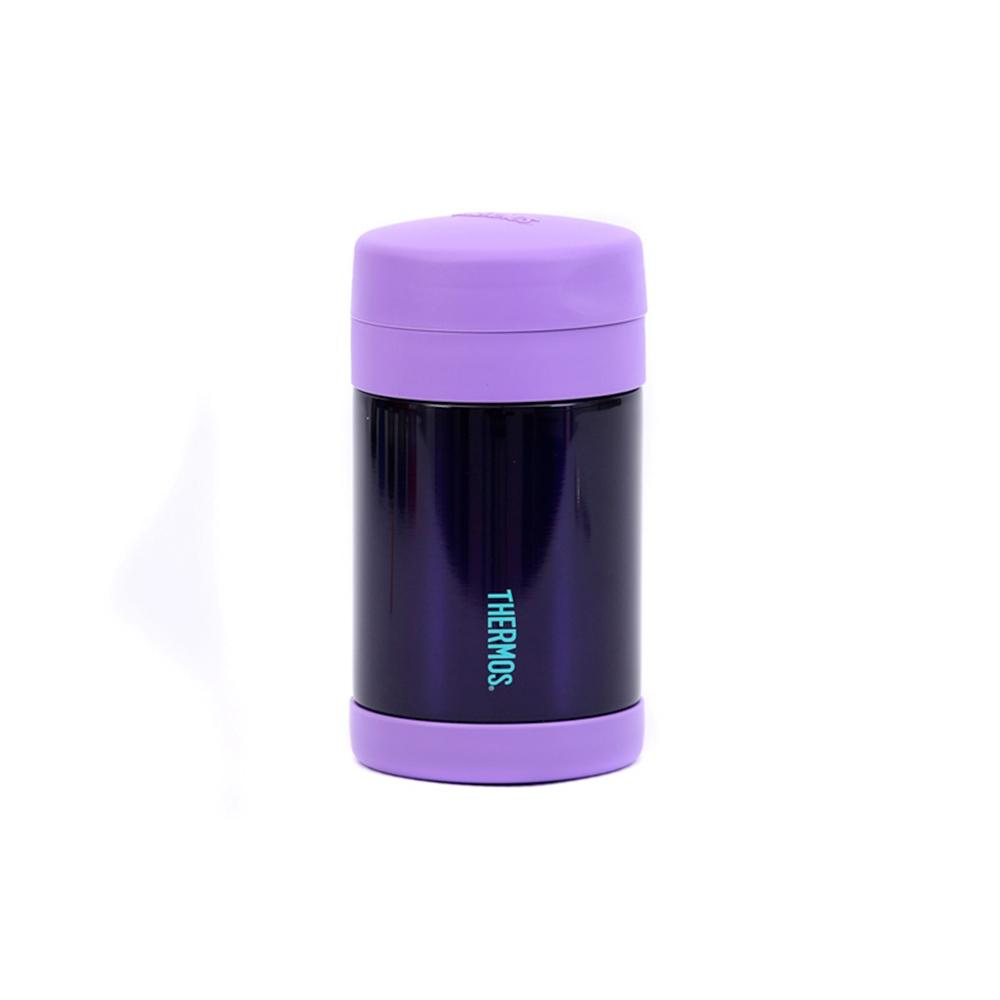 Thermos Funtainer 470ml Food Jar - Hot and Cold food container - Purple