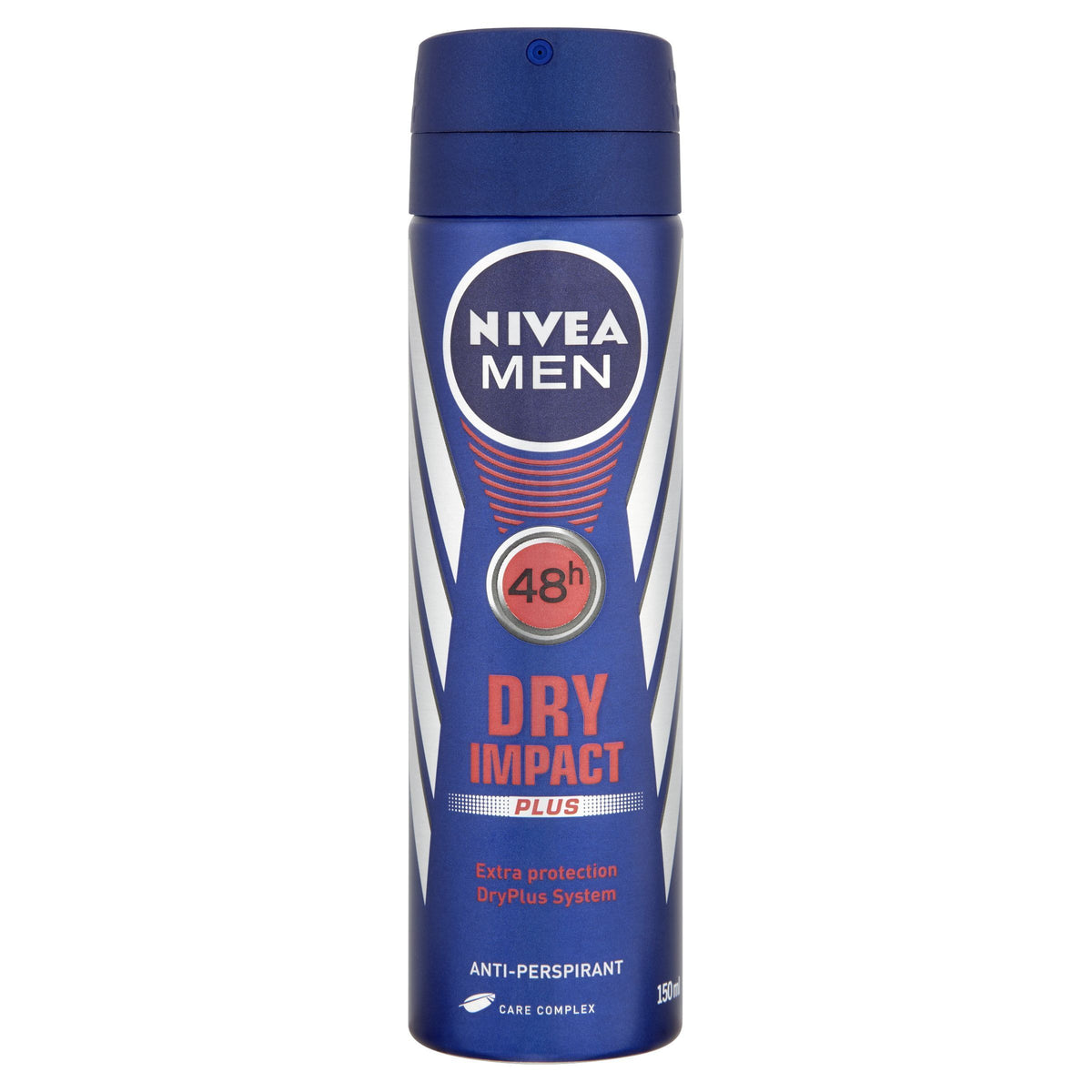 Nivea Men Dry Impact Plus 48h Anti-Perspirant 150ml - Pack of 6