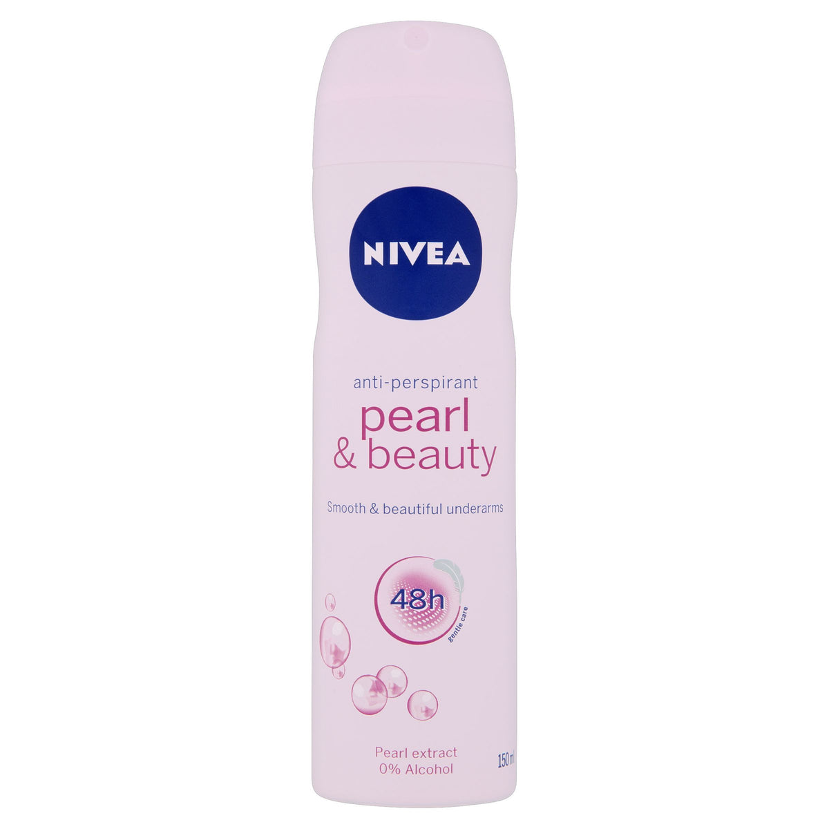 Nivea Pearl & Beauty 48h Anti-Perspirant 150ml - Pack of 6