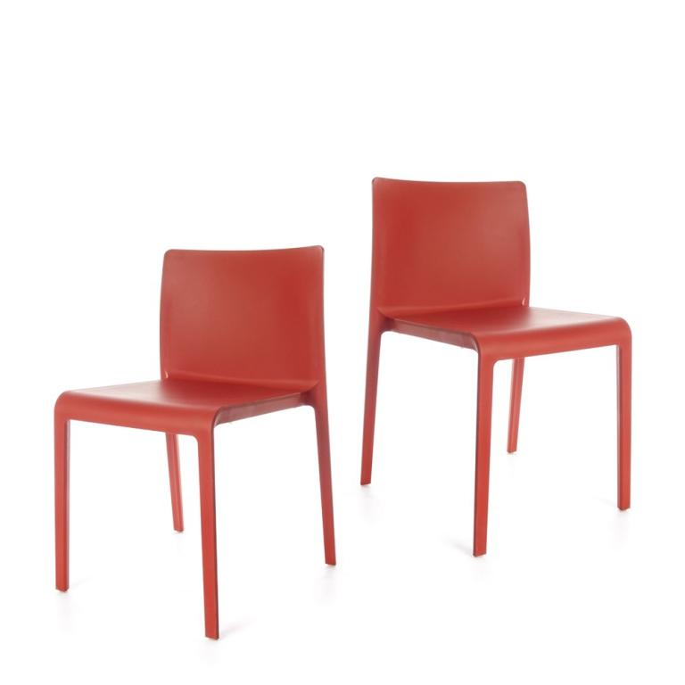 Volt Chair - set of 2 chairs - Red