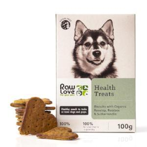 Raw Love - Health Treats 100g Pet Treats Raw Love - 4aPet