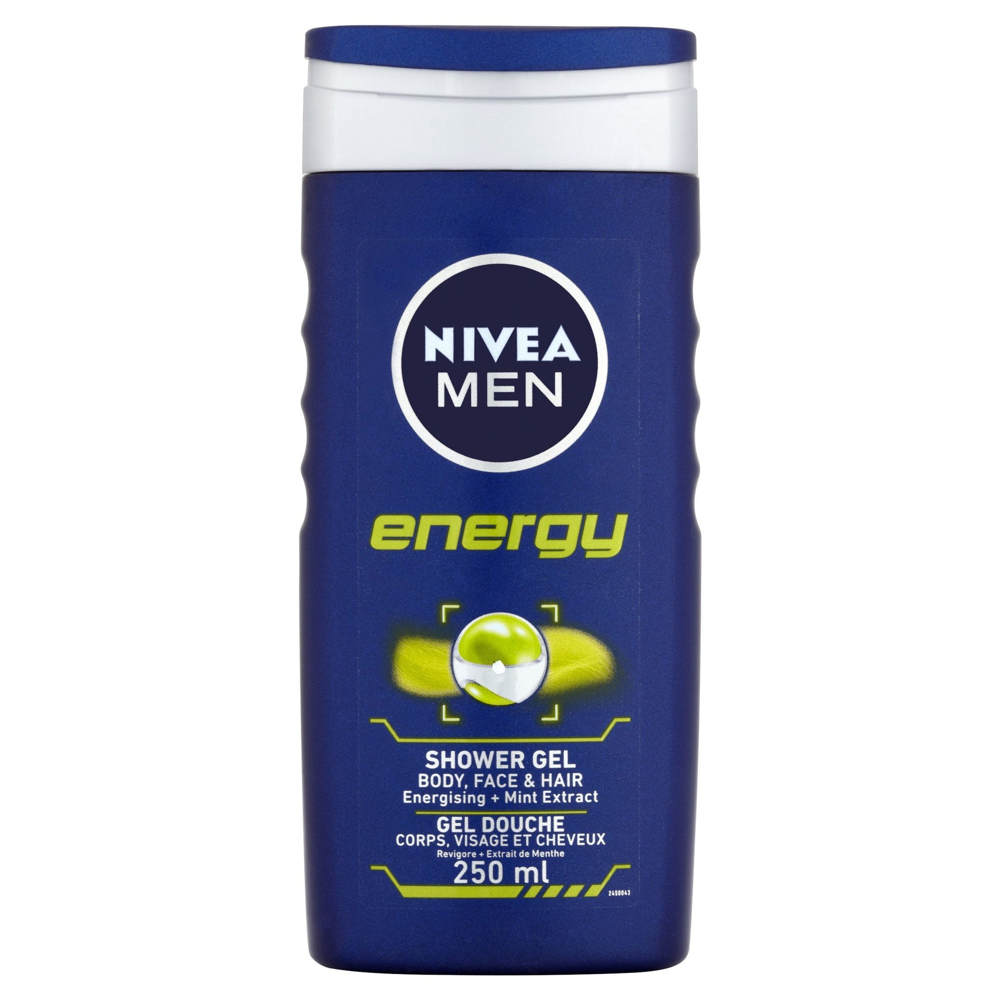 Nivea Men Energy Shower Gel 250ml - Pack of 6 (Sty-NIVE122BODY)