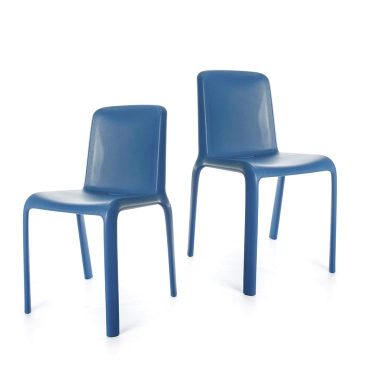 Snow Chair - set of two chairs - Blue