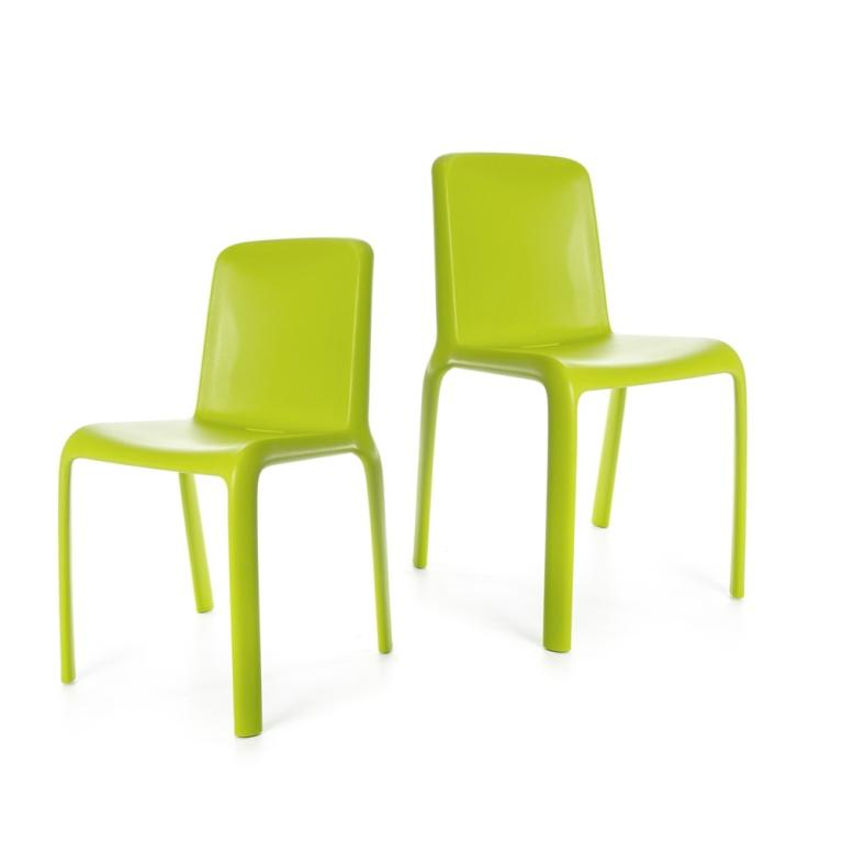 Snow Chair - set of two chairs - Green