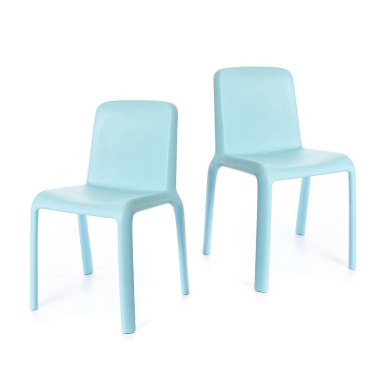 Snow Chair Junior- set of 2 chairs - Blue