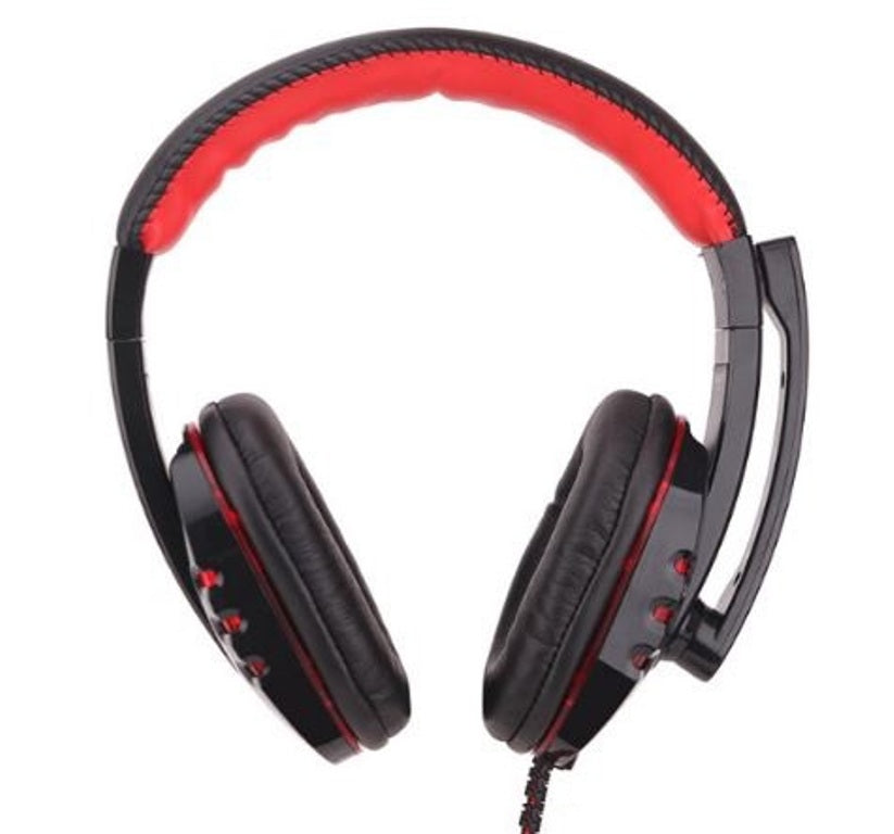 Gaming Headphones - Soyto SY733MV - Black