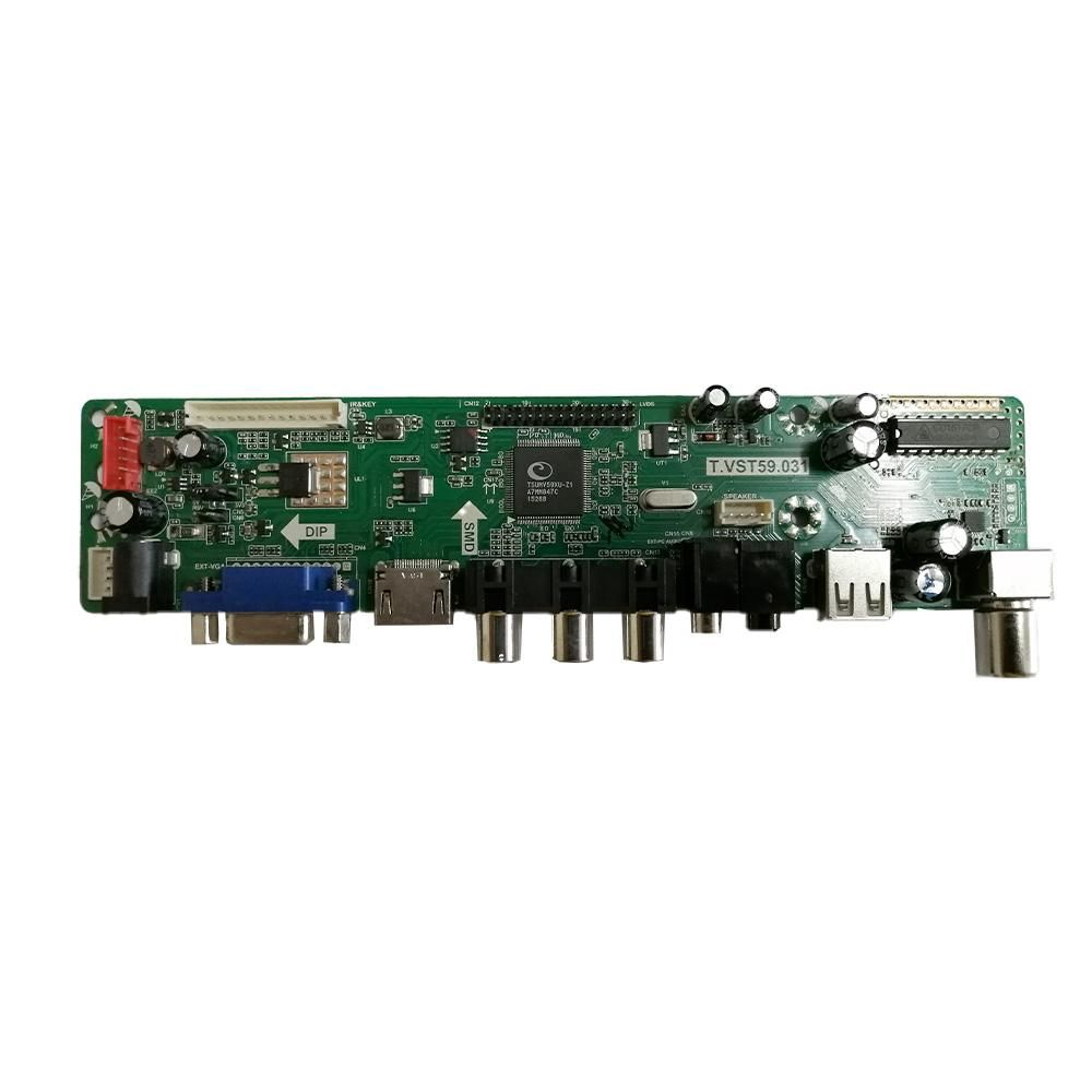 "Main Assembly PCB for 17"" TV"