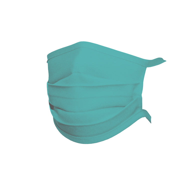 Silverlife Anti-bacterial Reuseable Material Face Masks – Turquoise