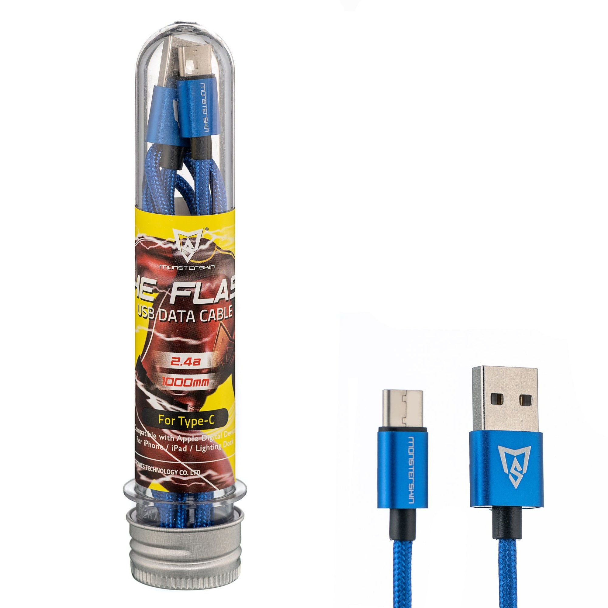 Monsterskin Type-C USB Charging & Data Cable Cable