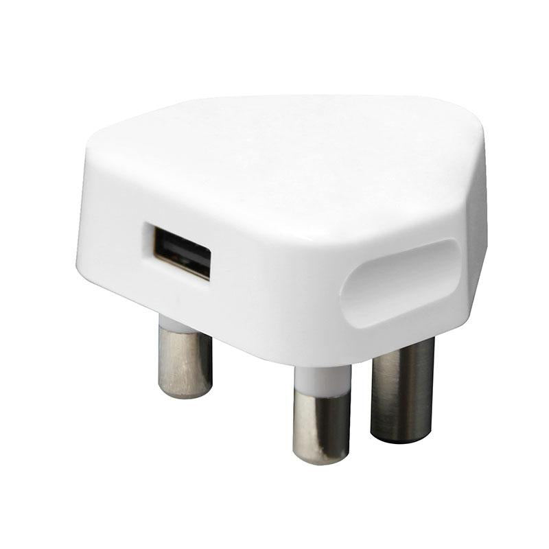 Whizzy Single USB 1 Amp 3-Pin Charger - UC1A1