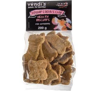 Vondi's - Jenny Morris Devil's Claw and Rosehip Biscuits Pet Treats 4aPet - 4aPet