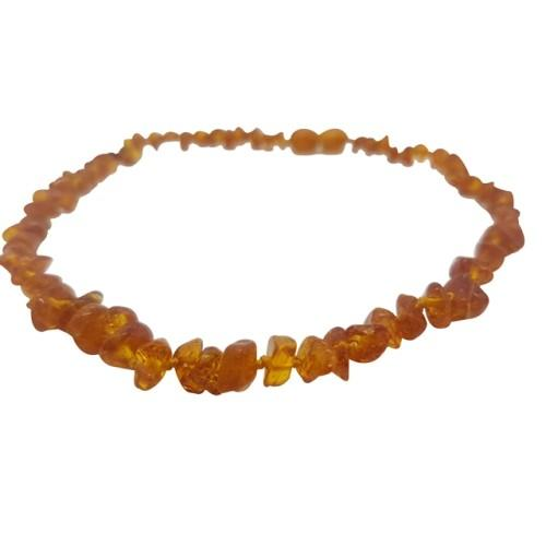 4aKid Amber Teething Necklace - Cognac (Amber) Baby Teething - 4aKid