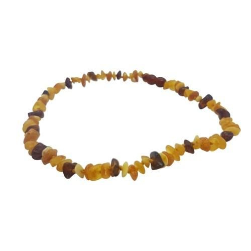 4aKid Amber Teething Necklace - Multi Baby Teething - 4aKid