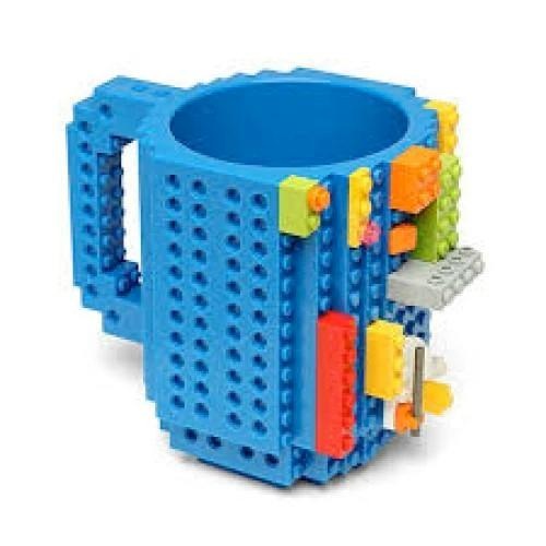 Building Brick Mug - Blue  Kids Mug