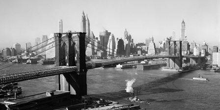Canvas Prints - Brooklyn Bridge by Day | NextBuy