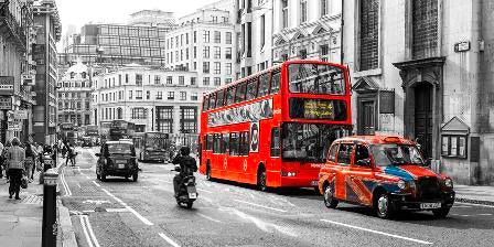 Canvas Prints - Buses and Cabs in London