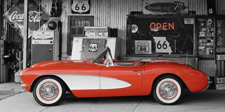 Canvas Prints - Route 66 Museum (120cm x 70cm)
