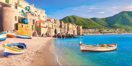 Canvas Prints - Cefalu