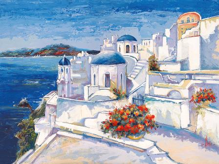Canvas Prints - Mykonos (80cm x 60cm)