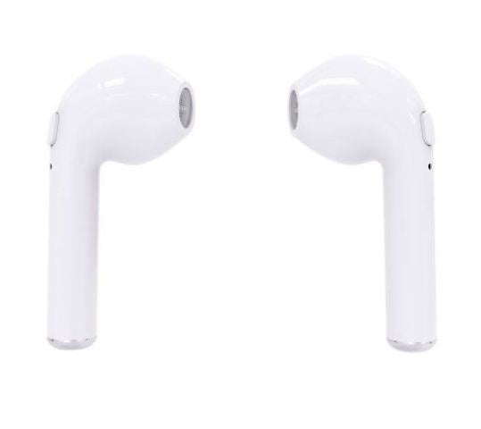 i7S TWS Twins Mini Bluetooth Earphones - White