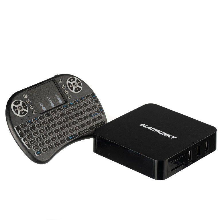 Blaupunkt Android Media Box - Incl Keyboard Remote (ASTB1)