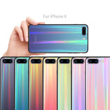 Iphone full range of aurora gradient phone case