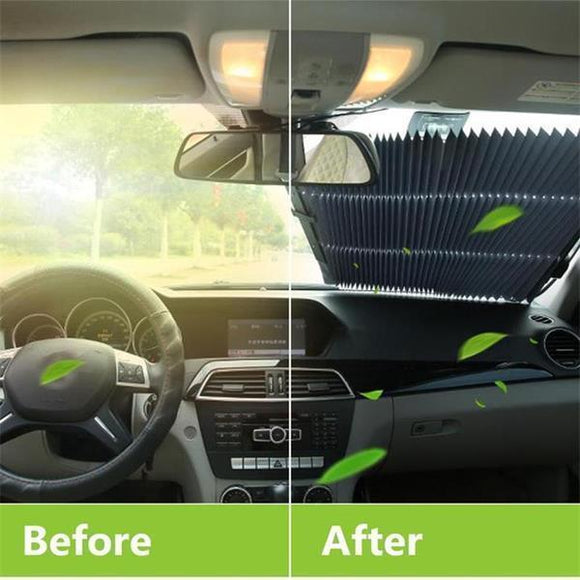 Car Retractable Curtain With UV Protection - skrchic