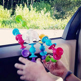 Silicone Building Blocks Assembled Sucker Suction Cup Funny Construction Toy