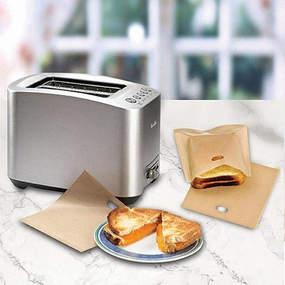 10pcs Reusable Toaster Bags