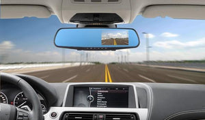 Global Technology -4.3 Inch Dash-cam/Rear-cam Smart Mirror