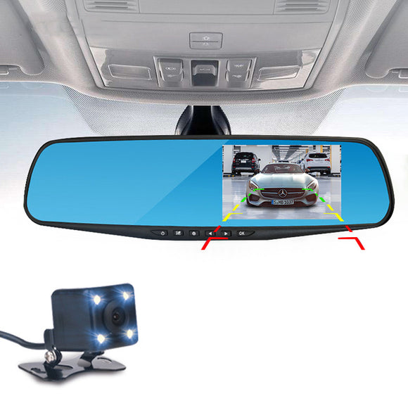 4.3 Inch LCD DVR Video Dash Cam Recorder| 1080P FHD CAMERA