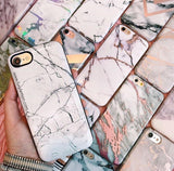Marble Battery Power Phone Case
