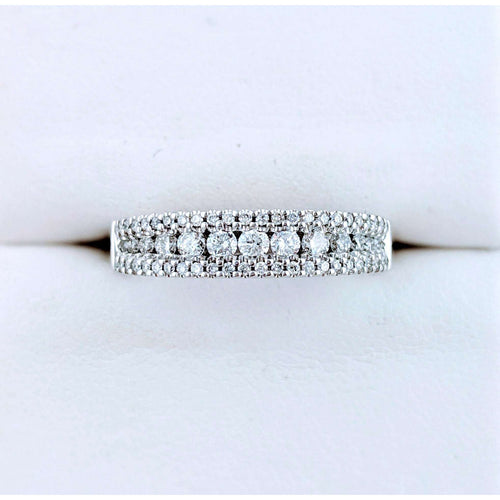 14kwg Diamond Wedding Band