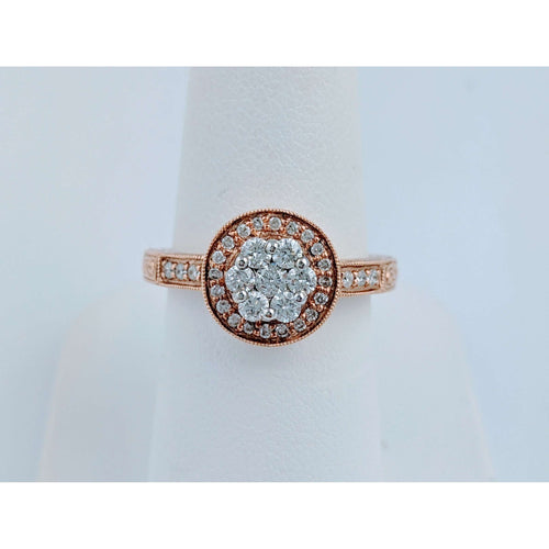 14krg Diamond Cluster Ring