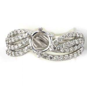 Diamond Swirl Bridal Set