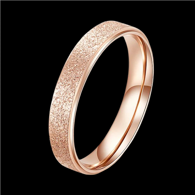 Bague Or Rose Brillante M