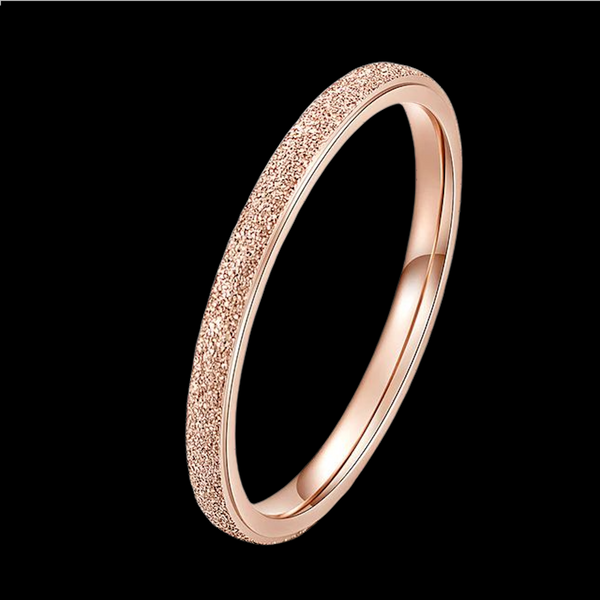 Bague Or Rose Brillante S