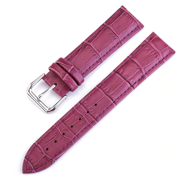 Cuir Crocodile Rose Lady