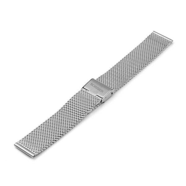Mesh silver Homme