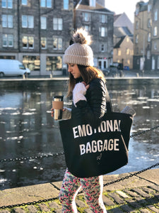 'Emotional Baggage' Organic Tote Bag