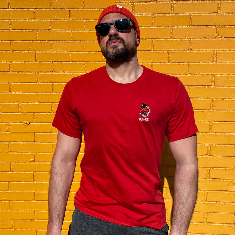 Submission Tee Red