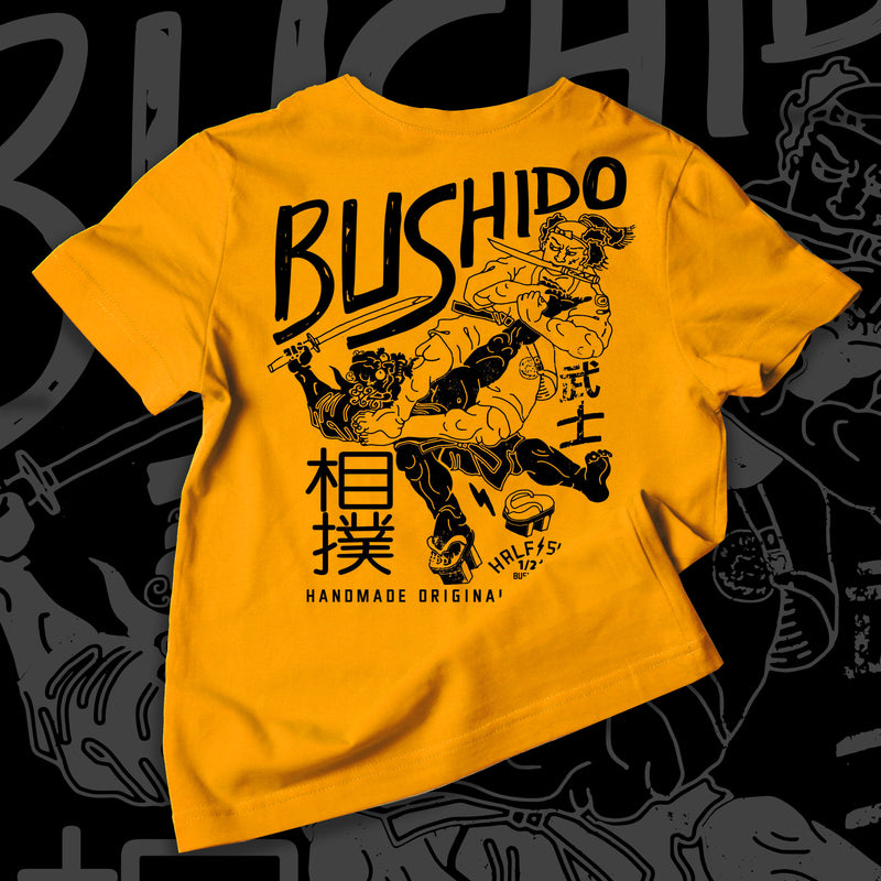 Bushido T-shirt Yellow