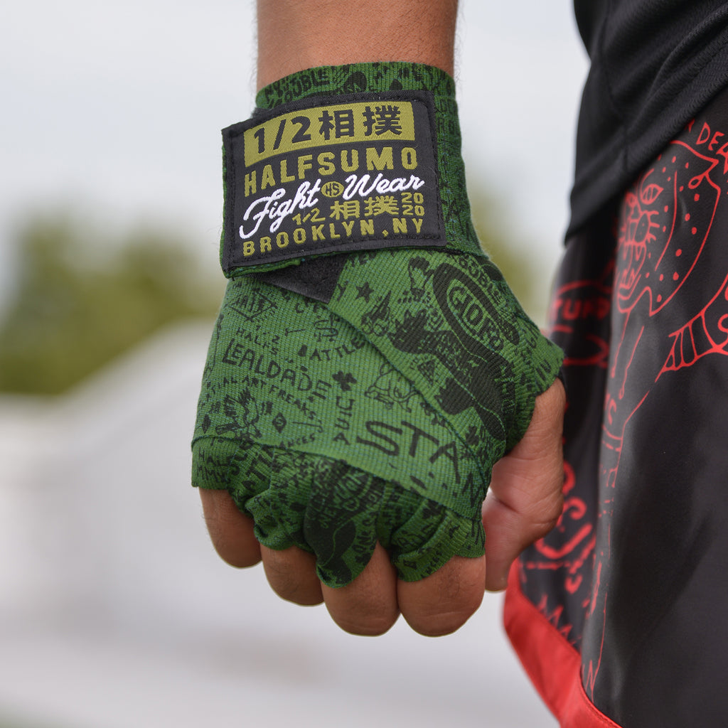 Glory Hand Wraps Green