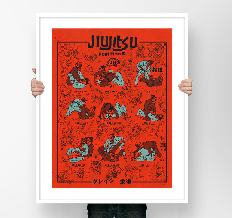 JiuJitsu  Pop version Posters