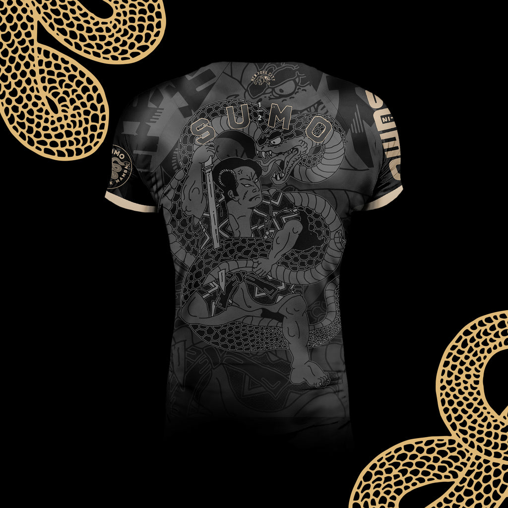 Black Mamba Rashguard Short Sleeve