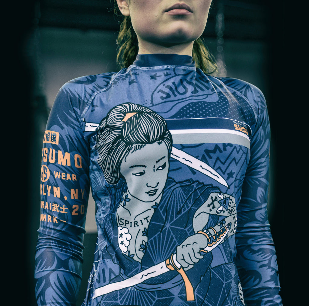 Onna Bugeisha Rashguard Long Sleeve for Women