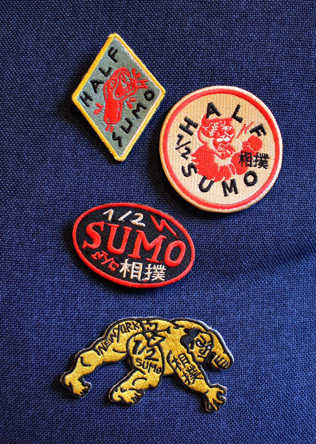 Half Sumo Patch Collection #1