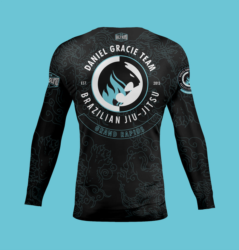 Daniel Gracie Grand Rapids Rashguard Long Sleeve
