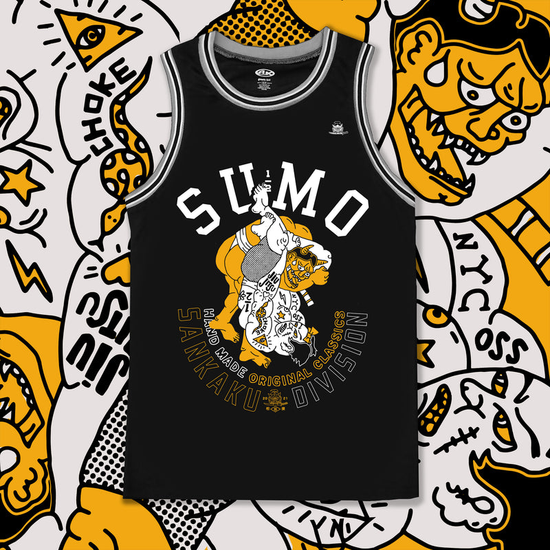 Sankaku Vintage Tank Top Black