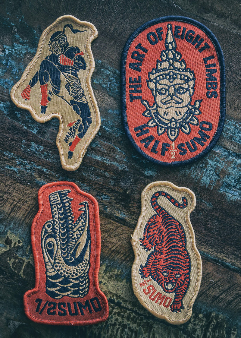 8 Limbs Patch Collection #1